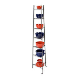 Enclume - Enclume - 7 Tier Cookware Stand - ENCLUME - CWS7 KD - 7 TIER COOKWARE STAND