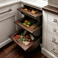 Eclectic Cabinet And Drawer Organizers by Quality Custom Cabinetry, Inc