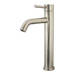 Virtu USA - Virtu USA Hydron PS-402 Bathroom Faucet - Bearing an elegant design featuring elements from a modern style as well as a sleek look, the Hydron single hole bathroom faucet is the all-around package for any setting. This faucet holds its beauty as well as its construction. The piece is constructed in solid brass with a triple plated finish to resist any rust and corrosion. The Hydron is truly the one to fit any bathroom by design and functionality.