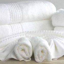 MicroCotton® Hotel Collection Towels - BACK BY POPULAR DEMAND!! MicroCotton® Hotel Collection terry towels are luxuriously lofty and ultra absorbent, your guests will truly appreciate the experience of using these quality towels. 100% extra long staple cotton. Exceptionally soft and Twice as thick and plush as other towels of the same weight. Snag-free loops so there are no pulled threads during washing. Wonderfully white, even after many washings. 100% extra long staple cotton makes the towel durable.