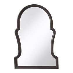 Murray Feiss - Murray Feiss MR1130ORB Cleo 40 125 Height X 28 Width Clear Arched Mirror - Forty inches in height, this clear glass arched wall mirror adds luxury to any room.