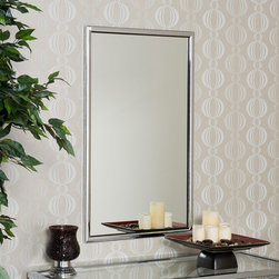 Southern Enterprises - Chrome Rectangle Wall Mirror - 22W x 36H in. Multicolor - WS0944 - Shop for Mirrors from Hayneedle.com! Open up your decor while adding light and beauty with the Chrome Rectangle Wall Mirror. This attractive mirror offers a metal frame with a sleek chrome finish. Its contemporary design and generous size will add a sense of spaciousness to any room while bringing in light and reflecting the beauty of your living area decor.About SEI (Southern Enterprises Inc.)This item is manufactured by Southern Enterprises or SEI. Southern Enterprises is a wholesale furniture accessory company based in Dallas Texas. Founded in 1976 SEI offers innovative designs exceptional customer service and fast shipping from its main Dallas location. It provides quality products ranging from dinettes to home office and more. SEI is constantly evolving processes to ensure that you receive top-quality furniture with easy-to-follow instruction sheets. SEI stands behind its products and service with utmost confidence.