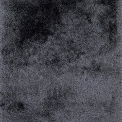 """Loloi Rugs - Loloi Rugs Orian Shag Collection - Charcoal, 2'-3"""" x 3'-9"""" - A luxe, head-turning series of shag rugs, Orian is hand-tufted in China of 100% polyester for great durability and exceptional softness. The densely packed yarns also make Orian a wonderful spot for bare feet too."""