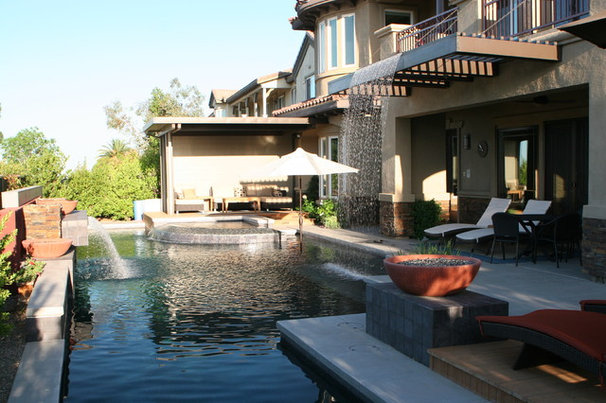 Modern  by Green Planet Landscaping Pools & Spa