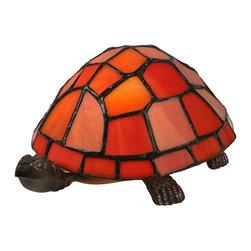 "Meyda Lighting - Meyda Lighting 10271 4""H Turtle Tiffany Glass Accent Lamp - Meyda Lighting 10271 4""H Turtle Tiffany Glass Accent Lamp"