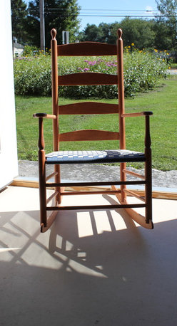 Rocking Chairs are wonderful addition to any room in a house - Canterbury Shaker Rocker
