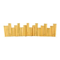"Bamboo Borders - 1 1/4"" D x 12"" H x 48"" L - 4 Piece Bundle - Bamboo Borders - 1 1/4"" D x 12"" H x 48"" L - 4 Piece Bundle"