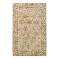 """Surya - Traditional Vintage Sample 1'6""""x1'6"""" Sample Honey-Cream  Area Rug - The Vintage area rug Collection offers an affordable assortment of Traditional stylings. Vintage features a blend of natural Honey-Cream  color. Hand Tufted of 100% New Zealand Wool the Vintage Collection is an intriguing compliment to any decor."""