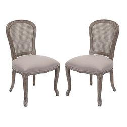 Safavieh - Safavieh Lucy Side Chair X-2tes-A1454RCM - Safavieh Lucy Side Chair X-2tes-A1454RCM