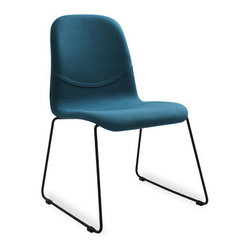 Bryght - 2 x Ava Teal Fabric Metal Dining Chair - Liven up your space with these heart warming Ava dining chairs. Available in a variety of vibrant colors, the Ava chair with its soft contours is sure to woo anyone with an eye for design.