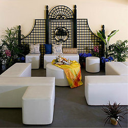 Dots, Dashes And Arc Seating By La Fete - Create the perfect seating arrangement with these modular pieces.