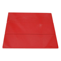 Loft Cherry Red Polished Glass Tile