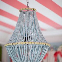 Beaded Heaven Custom Beaded Chandelier by Simply Salvage - This one is a bit more of a splurge than the others, but my goodness, it is gorgeous! And the best part is that it's completely customizable. Gotta love handmade art!