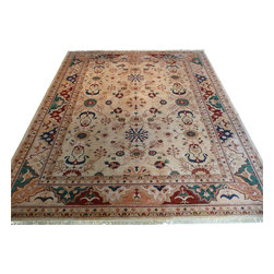 9'2 x 11'2 Mahal Rug - Oriental rugs are famously known to gain more value over time. An authentic Antique or Semi-Antique rug is not only an instant centerpiece in any setting, but is a wonderful investment which only increases over the years. This collection features rare and valuable authentic hand-knotted area rugs from all over the world at exclusive discount prices.