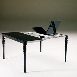 Ozzio - Deco Expandable Console & Dining Table -