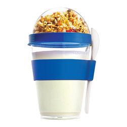 Adnart - Yo2Go, Blue - Take your favorite yogurt to go!