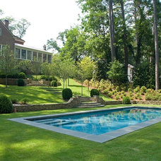Traditional Pool by Golightly Landscape Architecture