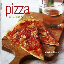Pizza, Calzone & Focaccia Cookbook - Stuffed focaccia with figs, prosciutto, and Taleggio goat cheese, pesto, and garlic pizzette little buns filled with walnuts, garlic, and parsley these are the kind of mouthwatering recipes Maxine Clark presents in this collection of hearth-bread favorites. Chapters include Doughs, Techniques, and Sauces; Pizzas Thick and Thin; Calzones and Pizza Pies; and Pizzette and Small Bites. Reference material includes tips on shaping, baking, and problem-solving, as well as an equipment and ingredients section.By Maxine ClarkHardcoverColor photography144 pagesMade in China