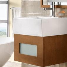 Modern Bathroom Vanities And Sink Consoles by Kitchen Kraft
