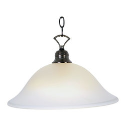 Premier - One Light 16 inch Pendant Fixture - Oil Rubbed Bronze - AF Lighting 617279 16in. W by 9-1/2in. H Wellington Lighting Collection 1 Light Pendant, Oil Rubbed Bronze.