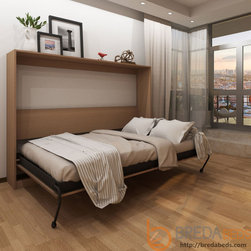 Horizontal Urban Murphy Bed by BredaBeds - Horizontal Urban Murphy Bed is a great solution if every inch counts in your room!