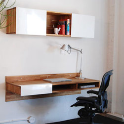 Mash Studios - LAX Series Wall-Mounted Desk - LAX Series Wall Mounted Desk by MASHstudios