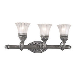 Minka Lavery - Minka Lavery ML 5763 3 Light Bathroom Vanity Light from the Europa Collection - Three Light Bathroom Vanity Light from the Europa CollectionFeatures: