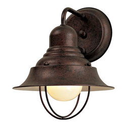 "Minka Lavery - Minka Lavery Outdoor 71167-91 Wyndmere Antique Bronze 1 Light Wall Sconce - 8.25"" W x 10.25"" H x 8.5"" Ext"