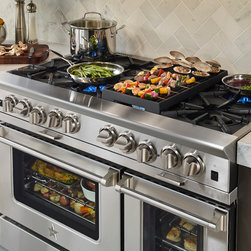 "BlueStar Platinum Series: 48"" Range - 	All gas range."