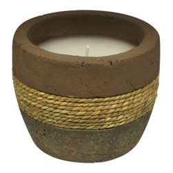Lamplight - Lamplight TIKI 1410156 10-Ounce Earth Tone Ceramic Rope Citronella ... - Lamplight TIKI 1410156 10-Ounce Earth Tone Ceramic Rope Citronella Candle TIKI, the brand trusted by millions, helps create a paradise in your backyard. This weathered ceramic citronella candle adds ambiance, light and a decorative accent to your outdoor space. Also, the warm brown and gold tones match with almost any outdoor decor. This candle can either blend into your outdoor decor or serve as a centerpiece on your table.