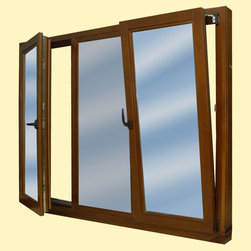 Modern European Windows - *Multi-chamber PVC profile