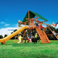 """Outback 6' - With the Outback 6' you will be racing to new heights, on a real racing tire!  Take the challenge on the combination ladder, creatively designed for both the little tike, as well as the older kids who love to climb the chain ladder just to say """"Look mom!  I did it!"""""""