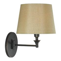 Kenroy - Kenroy 32180ORB Martin Wall Swing Arm Lamp - Kenroy 32180ORB Martin Wall Swing Arm Lamp