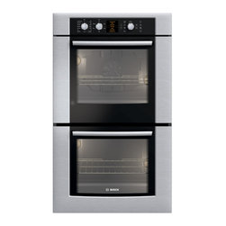 "Bosch 30"" 500 Series Double Wall Oven With Convection, Stainless 