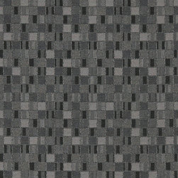 Black And Grey Geometric Boxes Contract Grade Upholstery Fabric By The Yard - P5252 is great for residential, commercial, automotive and hospitality applications. This contract grade fabric is Teflon coated for superior stain resistance, and is very easy to clean and maintain. This material is perfect for restaurants, offices, residential uses, and automotive upholstery.
