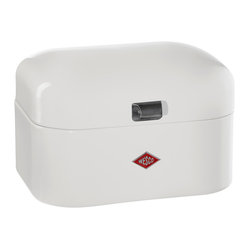 Wesco - Wesco Single Grandy Bread/Storage Box, White - Don't your baked goods deserve a better box? Outfitted with ventilation perforations for freshness, this classic number in your choice of colors will look stylish in your kitchen and is just the right size for smaller households.