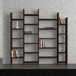 Salita Bookcase Wenge - Decortie
