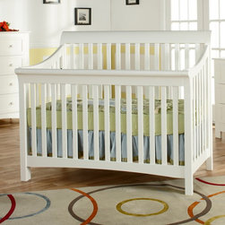 Pali Designs - Pali Designs Merano Forever Crib - 9700-WH - Shop for Cribs from Hayneedle.com! One of the greatest joys of having children is witnessing the greatness inside them and it all starts with the Pali Designs Merano Forever Crib. Perhaps the two greatest urges for your developing little one are sleeping and eating. These two simple activities consume your child's early life because it is through mastering them that your child will feed both body and mind to grow into his or her own self-sustaining individual. This crib can't do much for the feeding half of the equation but it does provide a secure sleep environment that will grow with your child providing a sense of comfort and stability when everything else seems to be changing. Able to convert to a toddler bed then to a day bed and finally to a full bed headboard and footboard this crib makes those transitions in growing up a lot less painful for you and your little one.Being a true conversion bed means more than simply being able to reconfigure the shape to accommodate a larger mattress. Transitional furniture like this clever crib also requires quality construction and a tastefully classic design that your child will grow to appreciate more and more rather than simply grow out of. This crib and bed design is inspired by the scenic northern Italian town of Merano. Merano has been called home by a number of great minds throughout history including scientists artists and literary icons such as Franz Kafka and Ezra Pound. Widely appreciated today for its luxurious resorts Merano stands at the entrance to the Passeier Valley surrounded by scenic mountains. It is this natural beauty and marriage of the traditional and the contemporary that shine through in this beautiful crib's design featuring simple yet elegant rolling top guardrails and smooth-sloped side rails. The Merano conversion crib achieves a classic look that will be the highlight of your nursery and is as appropriate for an infant as it is for an adult.And more than just looks this crib as with all of Pali Design's pieces uses sustainable resources in the construction. All the solid substrates are sustainably harvested from forests in Europe New Zealand and Southeast Asia because no furnishing can truly call itself lasting if it does not also take care of the world in which it is conceived.About PaliFor Pali the process of designing and producing high-quality furniture isn't just business it's personal. As a family-owned business four generations have guided Pali through almost 100 years of innovation technology development and production. In 1919 every piece of furniture was crafted by hand in the workshop; today Pali has utilized their expertise and knowledge of fine handmade chairs to produce beautifully designed cribs dressers and other bedroom furnishings. In their quest to create high-quality furniture that stands the test of time Pali is dedicated to reducing the amount of composite wood products and sourcing their solid substrates from sustainable easily harvested resources in Europe New Zealand and Southeast Asia. Pali takes this commitment seriously; every drawer box is constructed with solid wood and finished with English dovetailing and solid wood corner blocks for superior quality and durability. Their attention to detail commitment to quality and dedication to protecting our planet's resources makes Pali stand out as a leader in their industry and a company that can be entrusted your child's safety.