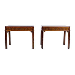 Century Furniture Asian Chippendale Side Tables - $1,399 Est. Retail - $699 on C -