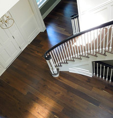 contemporary wood flooring by Signature Innovations LLC