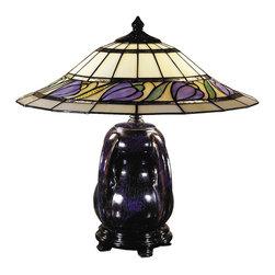 Dale Tiffany - New Dale Tiffany Lamp Reiko Ceramic - Product Details