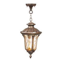 Livex - Livex Oxford Outdoor Chain Hang 7654-50 - Finish: Moroccan Gold
