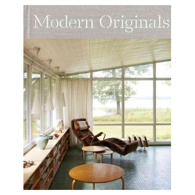 """Rizzoli International Publications - """"Modern Originals: At Home With Midcentury European Designers"""" Hardcover - This intimate portrait of both iconic and unknown midcentury European designers and architectural masterpieces reveals an inspiring personal approach to modernism. This gorgeously photographed volume features the intimate and private spaces of both the icons and unknown vanguards of European midcentury architecture and design. Showcasing the functional beauty of midcentury design, 'Modern Originals' presents the innovative homes by some of the most compelling and influential European midcentury designers, including Le Corbusier, Alvar Aalto, Finn Juhl, Robin and Lucienne Day, and Gae Aulenti, to name a few."""