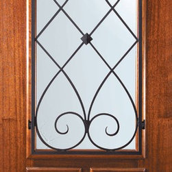 "Slab Single Door 80 Wood Mahogany Charleston Arch Lite Wrought Iron - SKU#    P06662WCH-GBrand    GlassCraftDoor Type    ExteriorManufacturer Collection    Arch Lite Entry DoorsDoor Model    CharlestonDoor Material    WoodWoodgrain    MahoganyVeneer    Price    945Door Size Options      +$percent  +$percent  +$percentCore Type    Door Style    Door Lite Style    Arch LiteDoor Panel Style    2 PanelHome Style Matching    Door Construction    PortobelloPrehanging Options    SlabPrehung Configuration    Single DoorDoor Thickness (Inches)    1.75Glass Thickness (Inches)    Glass Type    Double GlazedGlass Caming    Glass Features    Low-E , TemperedGlass Style    Glass Texture    Water , Flemish , Baroque , Fluted , Rain , Glue Chip , ClearGlass Obscurity    Light Obscurity , Moderate Obscurity , Highest Obscurity , No ObscurityDoor Features    Door Approvals    Wind-load Rated , FSC , TCEQ , AMD , NFRC-IG , IRC , NFRC-Safety GlassDoor Finishes    Door Accessories    Weight (lbs)    248Crating Size    25"" (w)x 108"" (l)x 52"" (h)Lead Time    Slab Doors: 7 daysPrehung:14 daysPrefinished, PreHung:21 daysWarranty    One (1) year limited warranty for all unfinished wood doorsOne (1) year limited warranty for all factory?finished wood doors"