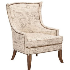 Eclectic Living Room Chairs by High Fashion Home