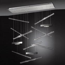 AXO Light - AXO Light   Explo Medium Suspension Light - Design by Manuel Vivian, 2012.