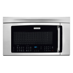Electrolux - Electrolux Stainless Over-the-Range Microwave - Add a stylish touch to your kitchen with this over-the-range microwave from Electrolux. A variety of settings highlight this microwave.