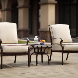Trussardi Collection - New for 2012 Trussardi Collection all welded cast aluminum dining and deep seating sets
