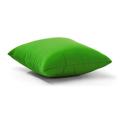 Zuo Modern - Zuo Modern Laguna Outdoor Pillow in Green - Outdoor Pillow in Green belongs to Laguna Collection by Zuo Modern The classic throw pillows made fun and functional for outdoor use. The Laguna Pillows come various fun colors and are made with a UV and moisture resistant washable polyester fabric. Liven up all of your outdoor pieces with these cute pillows! Outdoor Pillow (1)