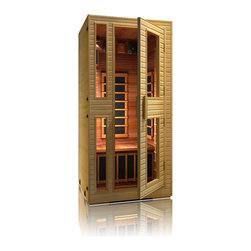 JNH Lifestyles - JNH Lifestyles Heritage 1 Person Far-Infrared Sauna - Product Description